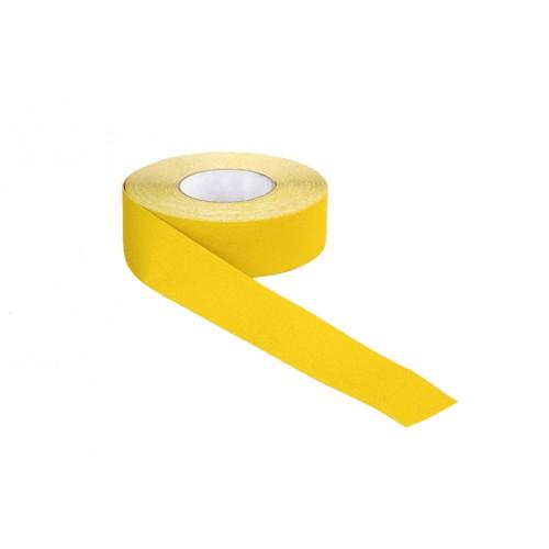 Ruban adhésif antidérapant 50 mm x 18 m jaune