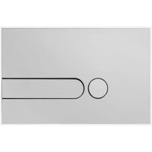 Double touche - Plaque de commande pour WC
