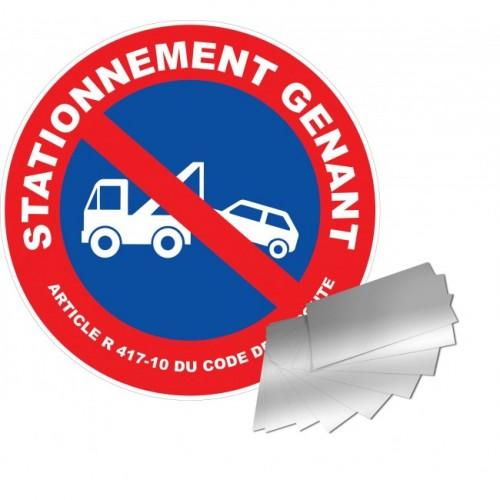 Panneau de signalisation - Stationnement génant / mise en fourrière