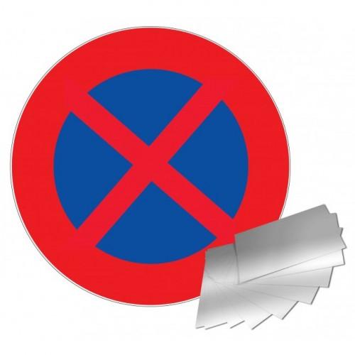 Panneau de signalisation - Défense de s'arrêter et de stationner