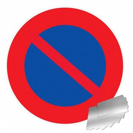 Panneau de signalisation - Défense de stationner