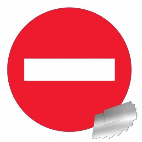 Panneau de signalisation - Sens interdit