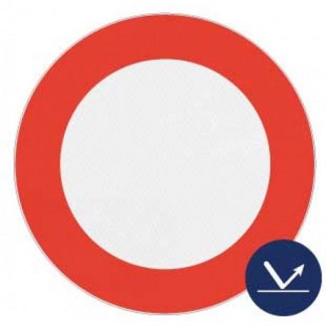 Panneau de signalisation rétroréfléchissant - Interdiction