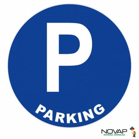 Panneau de signalisation - Parking