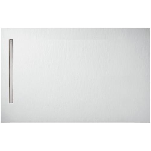 SURFACE - Receveur à poser rectangulaire 100 x 80 cm