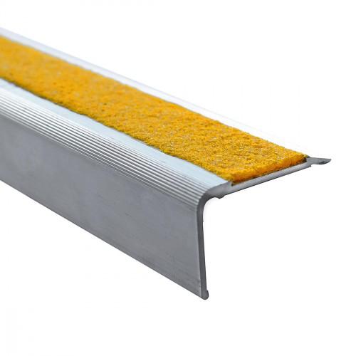 Nez de marche alu 3 m - LOT DE 5 - XP55 - intérieur et extérieur