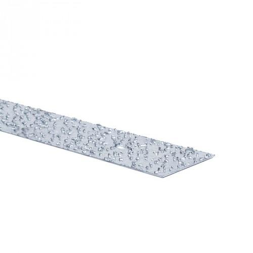 Profil plat inox à particules 2 m - LOT DE 10 - LUNAR - intérieur et extérieur