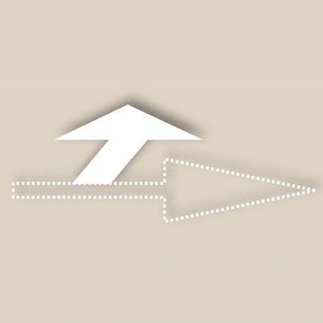 Tête de flèche tourne à gauche - T-SIGN