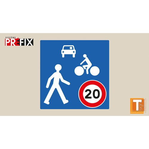 Symbole zone de rencontre - T-SIGN
