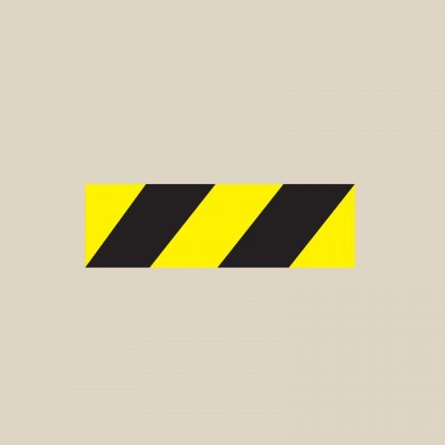 Ligne de sécurité noir et jaune thermocollée - T SIGN