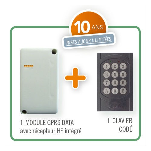 Intrabox data mini avec clavier codé