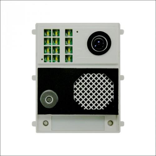 """Groupe Audio/Vidéo avec caméra couleur pour installation BUS """"GB2"""" - Evicom Golmar"""