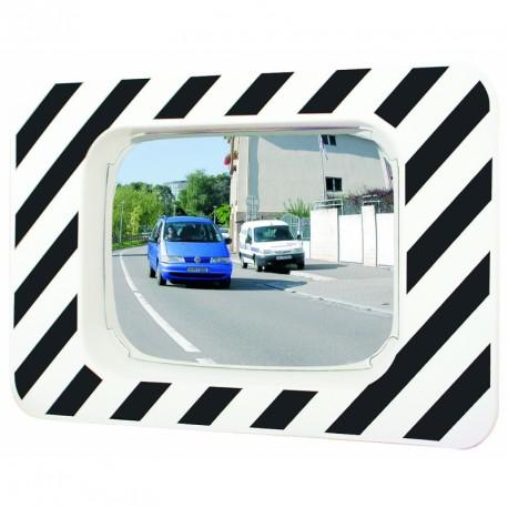 P.A.S - Miroir rectangulaire 990 x 130 x 1225 mm mm routier incassable