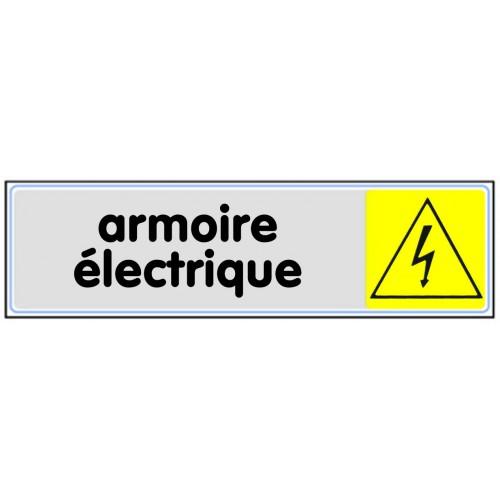 Plaquette Plexiglas Couleur - Armoire Electrique