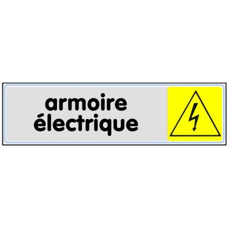 Plaquette plexiglas couleur - Armoire électrique