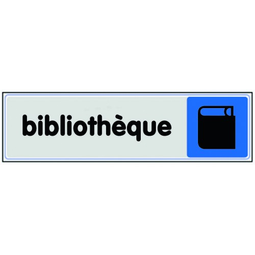 Plaquette plexiglas couleur - Bibliothèque