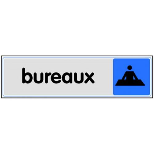Plaquette plexiglas couleur - Bureaux