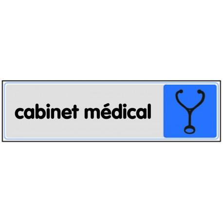 Plaquette plexiglas couleur - Cabinet médical
