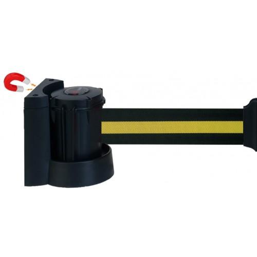 Support Mural Magnétique 3 m à Sangle 50 mm - Jaune et Noire