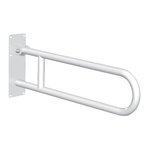 Barre d'appui relevable BASIC coudée Ø32 - L. 760 mm