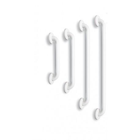 Barre de relevement droite - Acier Epoxy Blanc