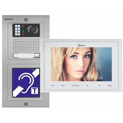 "Kit vidéo ERP Inox VESTA 7 - 7"" - Evicom - Golmar"