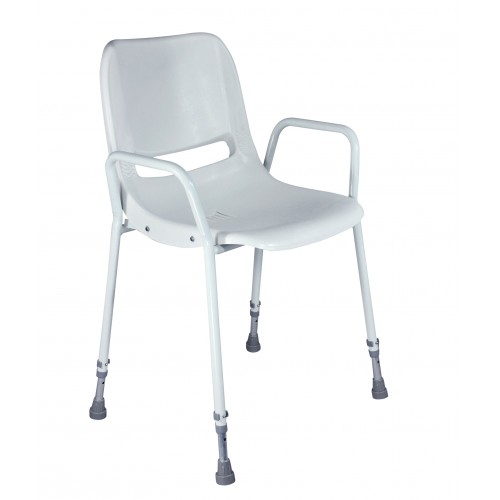 Chaise de douche portative empilable Milton