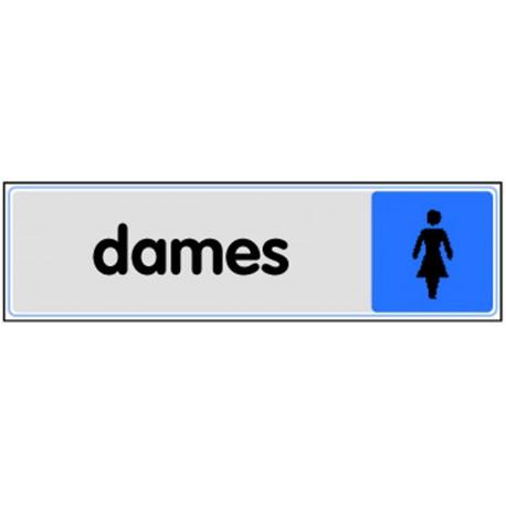 Plaquette plexiglas couleur - Dame