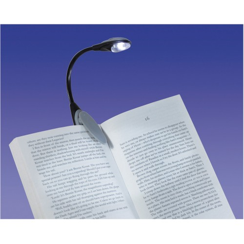 Lampe de lecture clipsable à LED