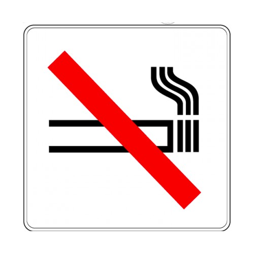 Pictogramme - Zone non fumeur
