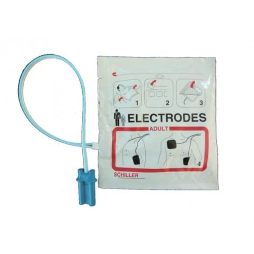 Electrodes adultes pré-connectées Fred EASY