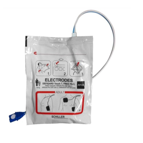 Electrodes adultes pré-connectées Fred PA-1