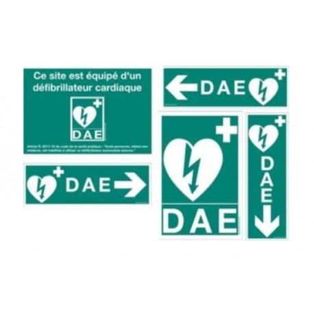 Pack signalétique DAE qualité standard