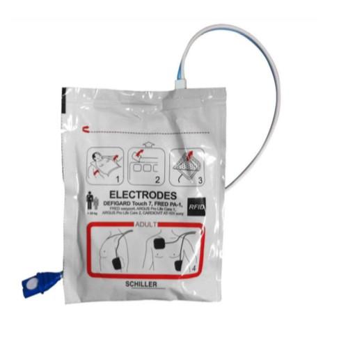 Electrodes adultes pré-connectées Fred EASY PORT