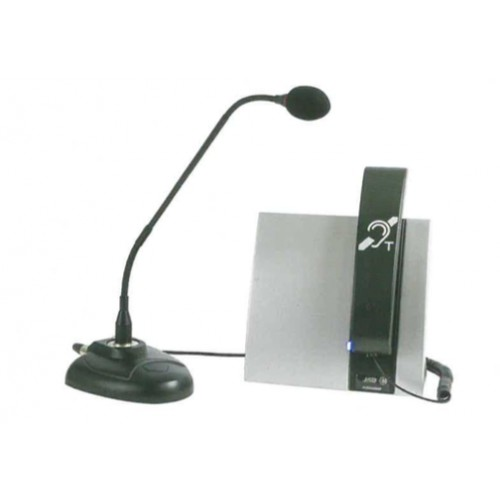 Boucle magnétique portative avec combiné et micro
