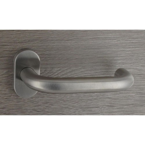 Poignée de porte inox design en forme de U