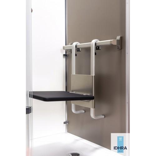Siège de douche à suspendre relevable