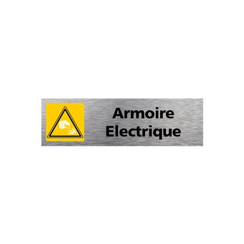 Plaquette de porte ARMOIRE ELECTRIQUE