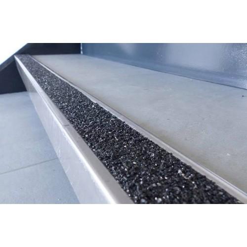 Nez de marche inox 2980x60 mm - LOT DE 5 - gt60 - intérieur et extérieur