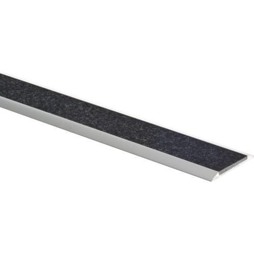 Profil plat en aluminium à coller (intérieur) ou à visser (extérieur)