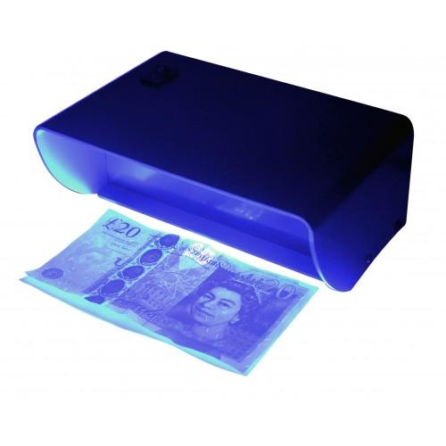 Vérificateur de billets de banque avec lumière UV