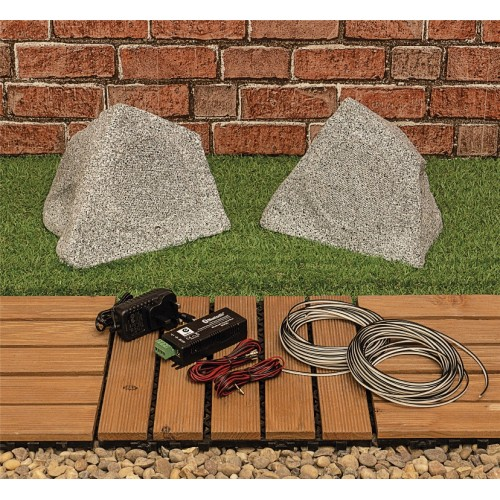 Kit de haut-parleurs de jardin Bluetooth