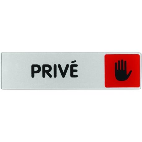Plaquette plexiglas couleur - PRIVE