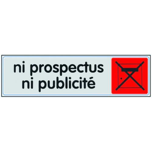 Plaquette Plexiglas Couleur - Ni Prospectus Ni Publicité