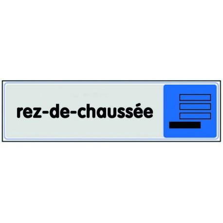 Plaquette plexiglas couleur - Rez-de-chaussée
