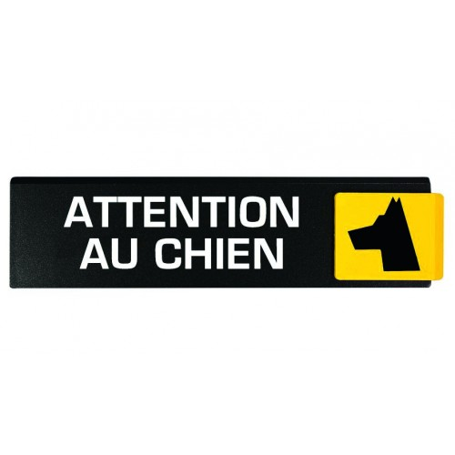 Plaquettes Europe Design - Attention au chien