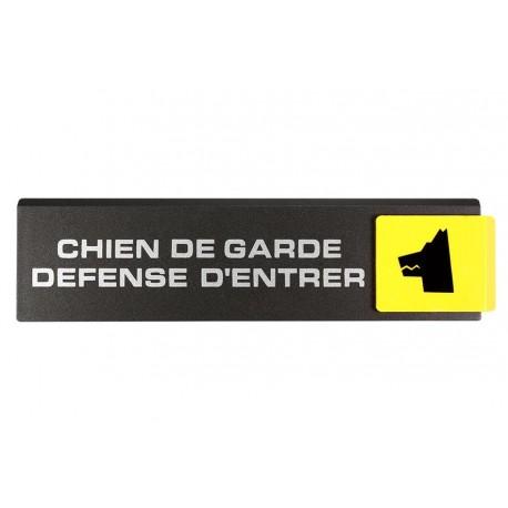 Plaquettes Europe Design - Chien de garde défense d'entrer