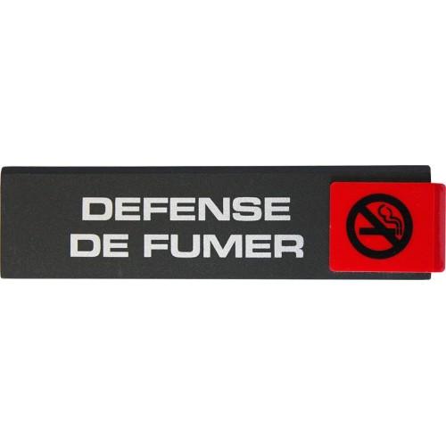 Plaquette Europe Design - Défense de Fumer