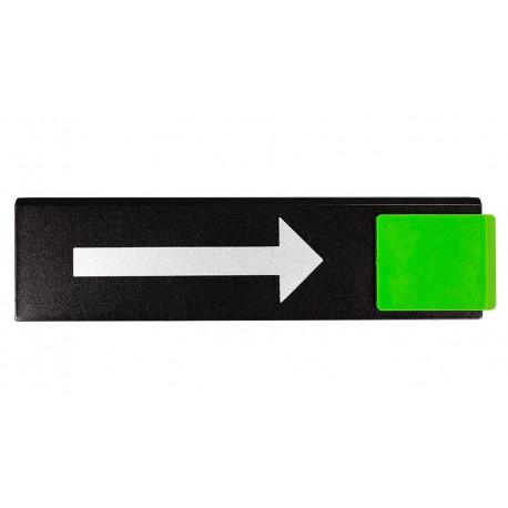 Plaquettes Europe Design - Flèche droite direction