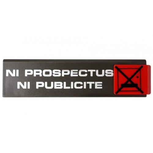 Plaquette Europe Design - Ni Prospectus Ni Publicité